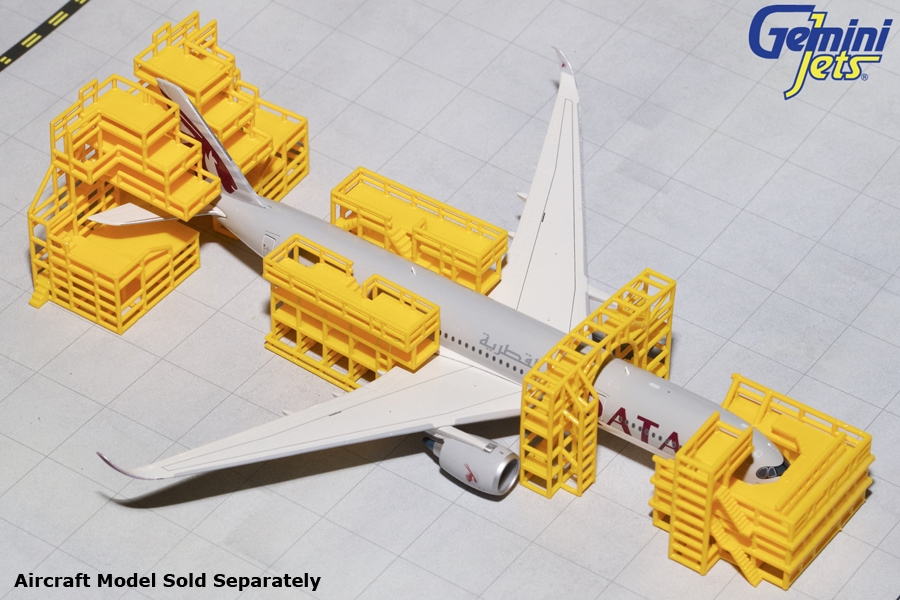 Aircraft Maintenance Scaffolding NEW (1:400) by GeminiJets 400 Diecast Airliners Item Number: GJAMS1828
