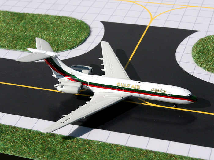 "Gulf Air Vickers Standard VC-10 ""Old Livery"" (1:400), GeminiJets 400 Diecast Airliners, Item Number GJGFA691"