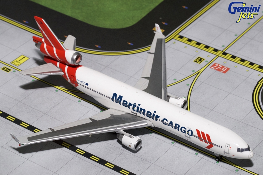 "Martinair MD-11CF PH-MCP ""Final Flight"" (1:400), GeminiJets 400 Diecast Airliners Item Number GJMPH1195"
