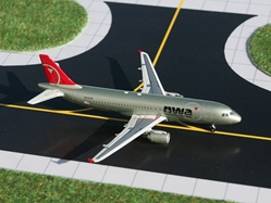 Northwest A320 (1:400), GeminiJets 400 Diecast Airliners, Item Number GJNWA875