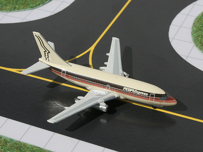 People Express 737-200 (1:400), GeminiJets 400 Diecast Airliners, Item Number GJPEX424
