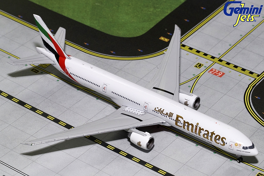 "Emirates B777-300ER ""EXPO 2020"" A6-ENV (1:400), GeminiJets 400 Diecast Airliners Item Number GJUAE1770"