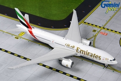 Emirates B777-200LR A6-EWI Expo 2020 logo on front (1:400)