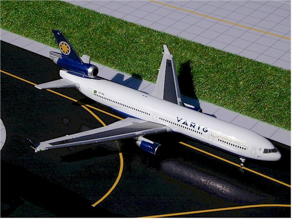 Varig MD-11 (1:400) - White box, GeminiJets 400 Diecast Airliners, Item Number GJVRG151