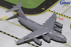USAF Boeing C-17 Martinsburg ANG 10196 (1:400), GeminiJets 400 Diecast Airliners Item Number GMUSA074