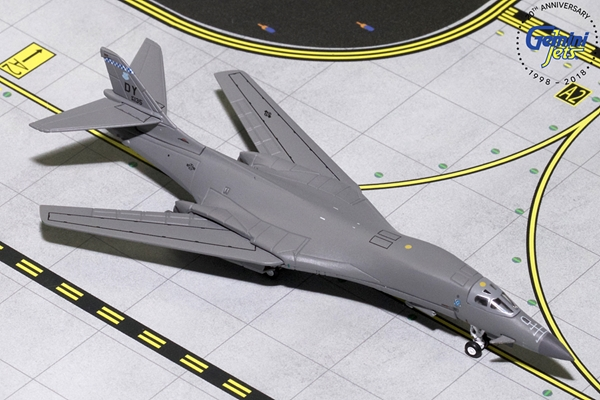 "USAF Boeing B-1B Lancer Dyess AFB ""Swing wing"" 86-0135 (1:400), Gemini MACS 400 Diecast Military Planes, GMUSA084"