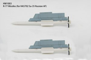 R-77 Missiles (1:72) for SU-35 Russian AF, model HA5702, Hobby Master Diecast Airplanes Item Number HW1003
