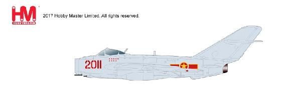 "MIG-17F (Shenyang J-5) - NEW TOOLING!, 2011, 923 IAP ""Yen The"" North Vietnamese Air Force (1:72)"