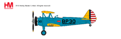 Stearman PT-17 Kaydet 4BFTS (British Flight Training School), Mesa, early 1940s (1:48) - Preorder item, order now for future delivery, Hobby Master Diecast Airplanes Item Number HA8108