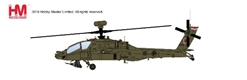 AH-64D Longbow, 2067, 120th Sqn., RSAF, 2016 (1:72), Hobby Master Diecast Airplanes Item Number HH1204