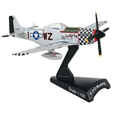 "P-51D Mustang ""Big Beautiful Doll"" (1:100) by Postage Stamp Diecast Planes item number: MP5342-8"