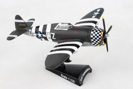 "P-47 Thunderbolt ""SNAFU"" (1:100) by Postage Stamp Diecast Planes item number: PS5359-3"