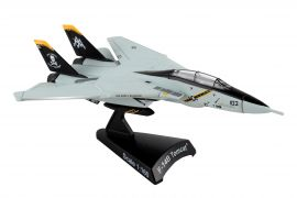 "F-14 Tomcat VF-103 ""Jolly Rogers"" (1:160) by Postage Stamp Diecast Planes item number: PS5383-3"