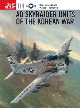 Ad Skyraider Units Korean War, Osprey Publishing Item Number OSPCOM114