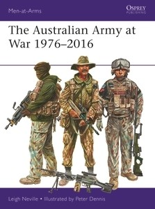 AUSTRALIAN ARMY 1976-2016 by Osprey Publishing item number: OSPMAA526