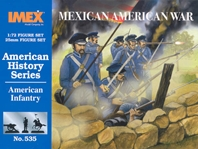American Inf Mexican War (1:72), IMEX Item Number IMX535