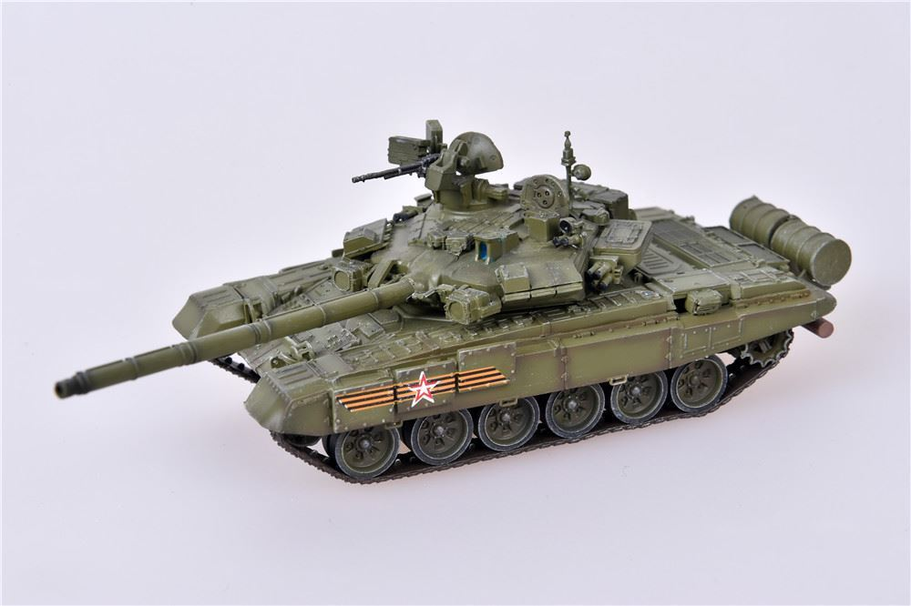 T-90A Main Battle Tank Red Square Victory Parade, Russian Army, May 9, 2015 (1:72), ModelCollect Item Number AS72053