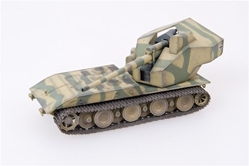 "Waffentraeger Auf E 100 Tank Destroyer with 128mm Gun German Army, ""1946,"" Two-Tone Camo (1:72), ModelCollect Item Number AS72082"