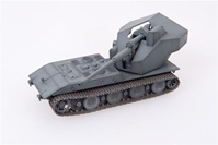 "Waffentraeger Auf E 100 Tank Destroyer with 128mm Gun German Army, ""1946,"" Grey (1:72), ModelCollect Item Number AS72078"