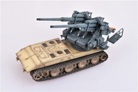 "E-100 Super Heavy Tank with 128mm Flak 40 Zwilling Germany, ""1946"" (1:72), ModelCollect Item Number AS72085"