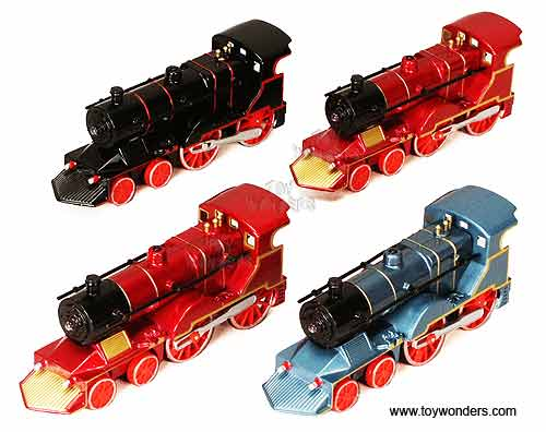 "Classic Trains with Sound and Light (5.5"", Assorted Colors.),  Item Number 675SL"