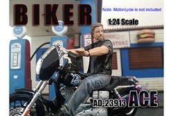 Biker Ace Figure For 1:24