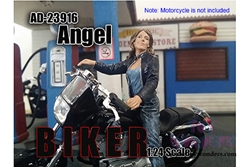 Biker Angel Figure For 1:24