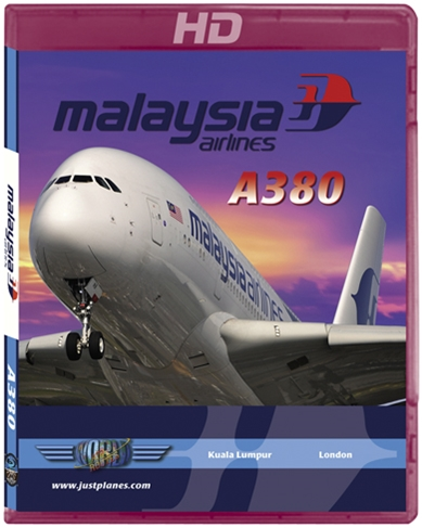 Malaysia Airlines A380 to London Heathrow (HD Blu-ray)