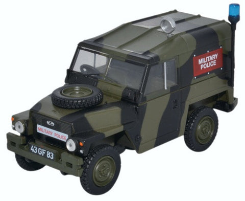 "Land Rover 1/2-Ton ""Lightweight"", Military Police (1:43 O Scale) by Oxford Diecast Military Vehicles"