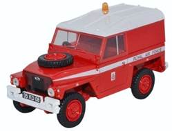 "Land Rover 1/2-Ton ""Lightweight"", Royal Air Force ""Red Arrows"" (1:43 O Scale) by Oxford Diecast Military Vehicles"