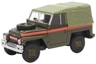 "Land Rover 1/2-Ton ""Lightweight"" (Canvas), Royal Air Force Police (1:43 O Scale) by Oxford Diecast Military Vehicles"