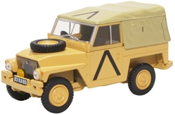 "Land Rover 1/2-Ton ""Lightweight"", Gulf War (1:43 O Scale) by Oxford Diecast Military Vehicles"