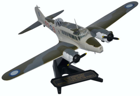 Avro Anson Mk.I, No. 71 Squadron, Royal Australian Air Force, Lowood Air Base, 1943 (1:72), Oxford Diecast 1:72 Scale Models Item Number 72AA005