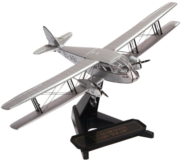 de Havilland DH.84 Dragon EI-ABI, IOLAR (1:72), Oxford Diecast 1:72 Scale Models, Item Number 72DG003