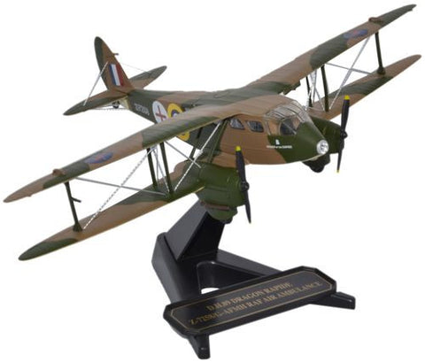 de Havilland DH.89 Dragon Rapide - RAF Air Ambulance (1:72), Oxford Diecast 1:72 Scale Models Item Number 72DR007