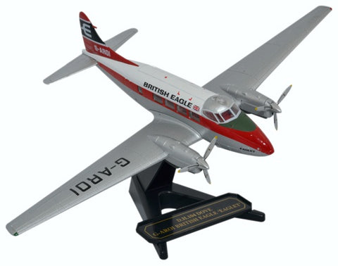 de Havilland DH.104 Dove, British Eagle, G-AROI, Oxford Diecast 1:72 Scale Models Item Number 72DV004