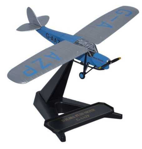 "de Havilland DH.80 Puss Moth, ""British Heritage,"" G-AAZP (1:72), Oxford Diecast 1:72 Scale Models Item Number 72PM004"
