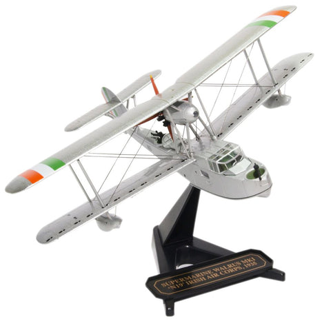 Supermarine Walrus N.19, Irish Air Corps, Irish Emergency (1:72), Oxford Diecast 1:72 Scale Models Item Number 72SW003