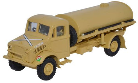 Bedford OY 3-Ton Tanker, HQ Corps, Royal Army Service Corps (RASC), World War II (1:76 OO Scale) by Oxford Diecast Military Vehicles