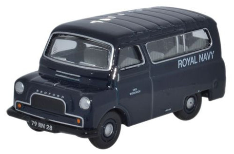 Bedford CA Minibus, Royal Navy, 1950s-1960s (1:76 OO Scale) by Oxford Diecast Military Vehicles