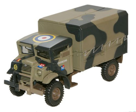 Bedford CMP (Canadian Military Pattern) Truck, 1st Canadian Infantry Division, Italy, 1943 (1:76 OO Scale) by Oxford Diecast Military Vehicles
