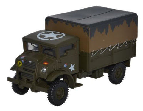Bedford Canadian Military Pattern Truck, 1st Canadian Division, Northwest Europe, 1945 (1:76 OO Scale) by Oxford Diecast Military Vehicles