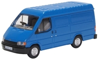 Ford Transit Mk.3 Van - Gentian Blue 1986-2000 by Oxford Diecast Item Number: 76FT3009