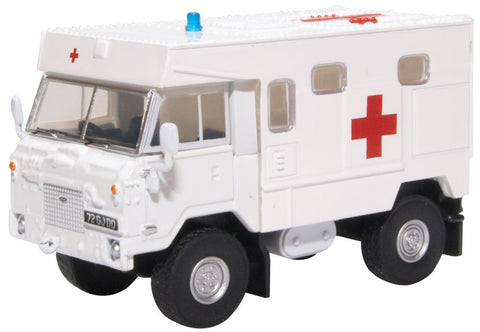 Land Rover 101 Forward Control Ambulance - British Royal Army, Bosnia, 1990s (1:76) by Oxford Diecast Military Vehicles Item Number: 76LRFCA003