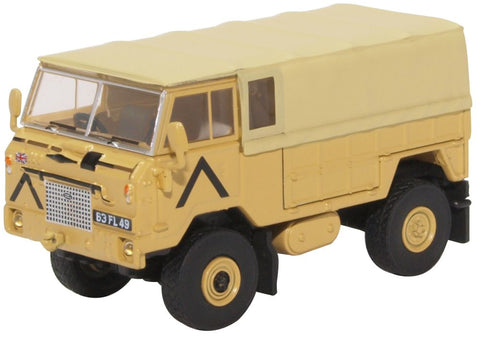 Land Rover 101 Forward Control GS, British Army (1:76 OO Scale) by Oxford Diecast Military Vehicles