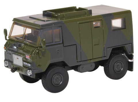"Land Rover 101 Forward Control ""Vampire"" Signals Truck, NATO Two-Tone Green (1:76 OO Scale) by Oxford Diecast Military Vehicles"