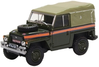 "Land Rover 1 /2-Ton ""Lightweight"" (Canvas) - Royal Air Force Police (1:76) by Oxford Diecast Military Vehicles Item Number: 76LRL007"
