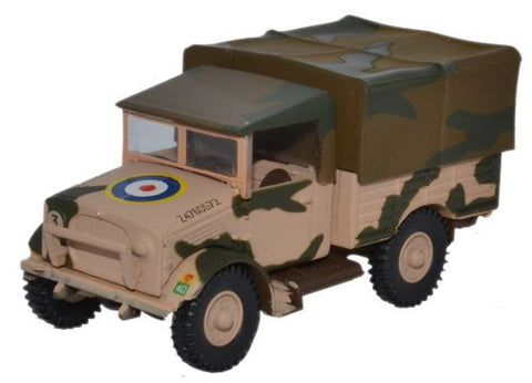 Bedford MWD, 10th Armoured Division, 41st (Oldham) Royal Tank Regiment, British Army, Tunisia, 1943 (1:76 OO Scale) by Oxford Diecast Military Vehicles