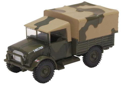 Bedford MWD, 2 Corps, 1/7th Battalion, Middlesex Regiment (Duke of Cambridges Own), British Army, France, 1940 (1:76 OO Scale) by Oxford Diecast Military Vehicles