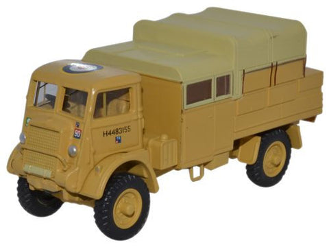Bedford QLB, 42nd Light Anti-Aircraft Regiment, 1st Armoured Division, British Army, Libya, 1942 (1:76 OO Scale) by Oxford Diecast Military Vehicles